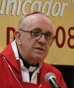 Cardinal Bergoglio S.J., 2008, from wikicommons